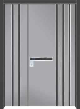 דלת מדגם: דלת כניסה מעוצבת דגם B1004
