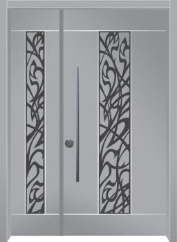 דלת מדגם: דלת מעוצבת דגם B1006