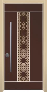 דלת מדגם: דלת כניסה מעוצבת דגם B1007