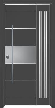 דלת מדגם: דלת מעוצבת דגם B1012