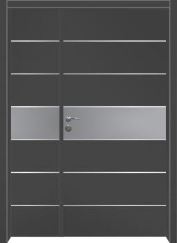 דלת מדגם: דלת כניסה מעוצבת דגם B1013