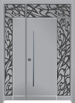 דלת מדגם: דלת מעוצבת דגם B1015