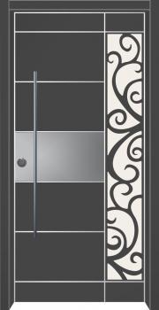 דלת מדגם: דלת כניסה מעוצבת דגם B1016