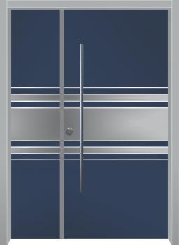 דלת מדגם: דלת כניסה דגם B1017