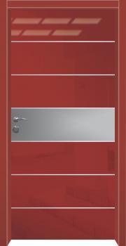דלת מדגם: דלת כניסה מעוצבת דגם B2007