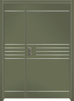 דלת מדגם: דלת מעוצבת דגם B3006