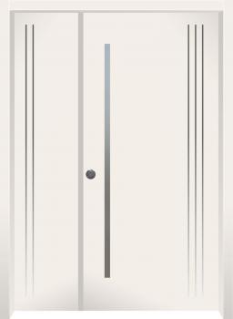 דלת מדגם: דלת כניסה דגם B3008