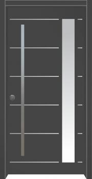 דלת מדגם: דלת כניסה מעוצבת דגם B4001