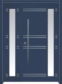 דלת מדגם: דלת כניסה מעוצבת דגם B4004