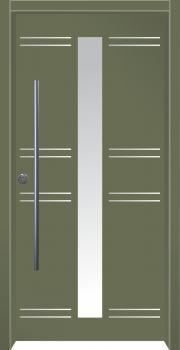 דלת מדגם: דלת מעוצבת דגם B4006