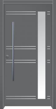 דלת מדגם: דלת כניסה מעוצבת דגם B4007