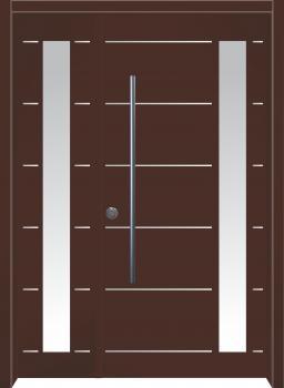 דלת מדגם: דלת מעוצבת דגם B4009