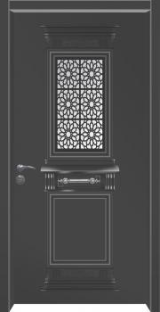 דלת מדגם: דלת כניסה מעוצבת דגם B5001