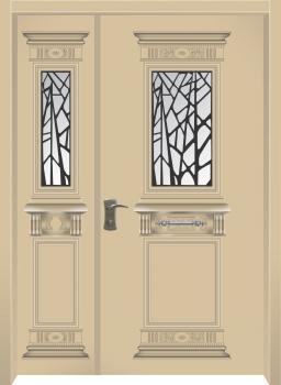 דלת מדגם: דלת כניסה מעוצבת דגם B5004