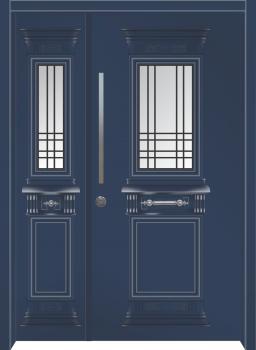 דלת מדגם: דלת מעוצבת דגם B5006