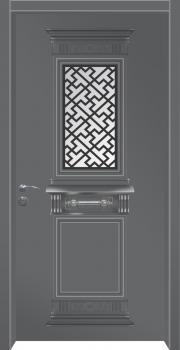 דלת מדגם: דלת כניסה מעוצבת דגם B5007