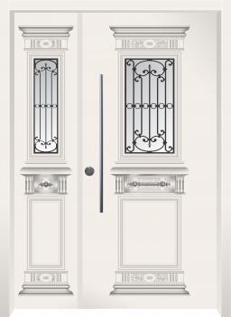 דלת מדגם: דלת מעוצבת דגם B5009