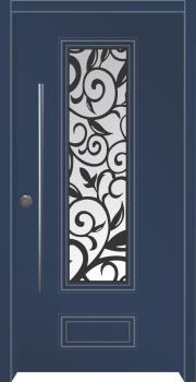 דלת מדגם: דלת כניסה מעוצבת דגם B6001