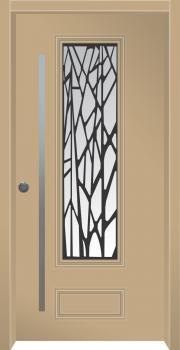 דלת מדגם: דלת מעוצבת דגם B6003