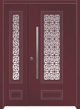 דלת מדגם: דלת מעוצבת דגם B6006
