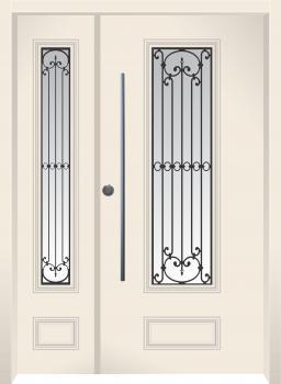 דלת מדגם: דלת מעוצבת דגם B6009