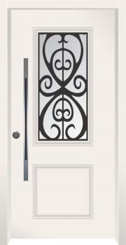 דלת מדגם: דלת כניסה מעוצבת דגם B7001