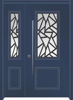דלת מדגם: דלת כניסה דגם B7002