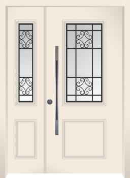 דלת מדגם: דלת מעוצבת דגם B7006