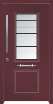 דלת מדגם: דלת כניסה מעוצבת דגם B7007