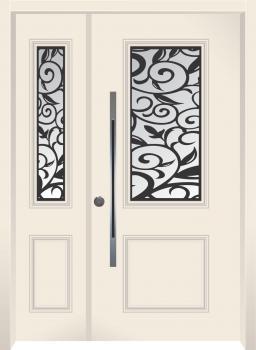 דלת מדגם: דלת כניסה דגם B7008