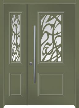 דלת מדגם: דלת מעוצבת דגם B7009