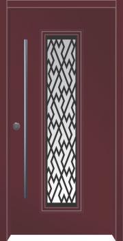 דלת מדגם: דלת כניסה מעוצבת דגם B8001