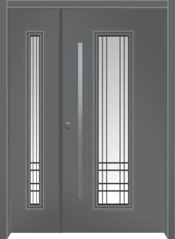 דלת מדגם: דלת כניסה דגם B8002
