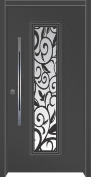דלת מדגם: דלת מעוצבת דגם B8003