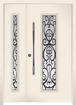 דלת מדגם: דלת מעוצבת דגם B8006