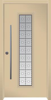 דלת מדגם: דלת כניסה מעוצבת דגם B8007