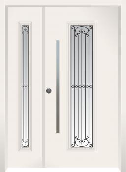 דלת מדגם: דלת כניסה דגם B8008