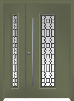 דלת מדגם: דלת מעוצבת דגם B8009
