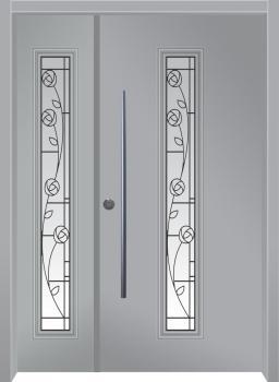 דלת מדגם: דלת כניסה דגם B9002