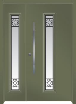 דלת מדגם: דלת מעוצבת דגם B9006