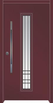 דלת מדגם: דלת כניסה מעוצבת דגם B9007