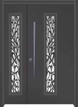 דלת מדגם: דלת מעוצבת דגם B9009