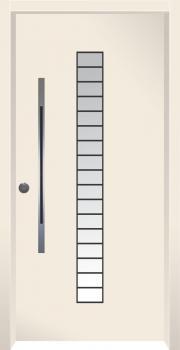 דלת מדגם: דלת כניסה מעוצבת דגם B11001