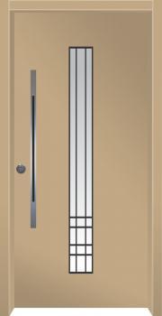 דלת מדגם: דלת מעוצבת דגם B11003