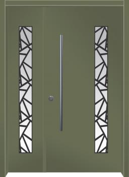 דלת מדגם: דלת מעוצבת דגם B11006