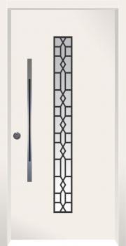 דלת מדגם: דלת כניסה מעוצבת דגם B11007