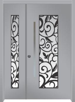 דלת מדגם: דלת כניסה דגם B11008