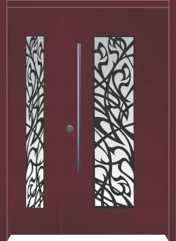 דלת מדגם: דלת מעוצבת דגם B11009