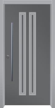 דלת מדגם: דלת כניסה מעוצבת דגם B12001