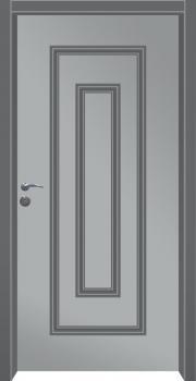 דלת מדגם: דלת מעוצבת דגם B12003